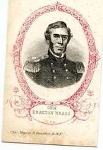 07x121.23 - General Braxton Bragg C. S. A., Civil War Portraits from Winterthur's Magnus Collection